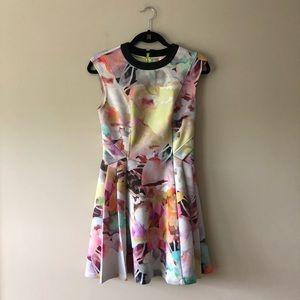 Ted Baker Electric Daydream sleeveless dress